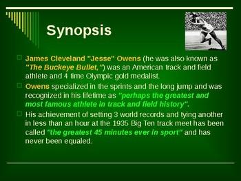 Sports & Entertainment - Jesse Owens