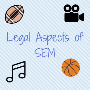 Sports & Entertainment Marketing: Legal Aspects