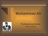 Famous People in History - Sports & Entertainment - Muhammad Ali