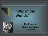 Sports & Entertainment - War of the World's Radio Broadcast