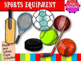 Sports Equipment- Clip Art