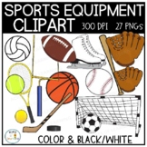 Sports Equipment Clipart | PE Fitness Images