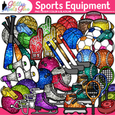 Sports Equipment Clip Art: Physical Education Graphics {Glitter Meets Glue}