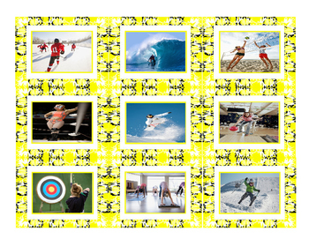 Sports & Exercise Cards