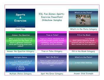 Sports-Exercise PowerPoint Slideshow