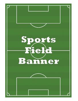 Sports Field Banner