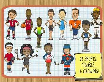 Sports Figures and Athletes ClipArt