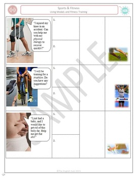 Sports & Fitness (B): Using Modals and Personal Training (Adult ESL)