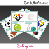 Sports Flash Cards Instant Download PDF; Preschool, Kinder