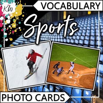 Sports Vocabulary Flashcards