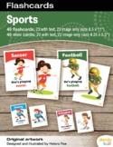 Sports Flashcards / Set of 23 / Printable