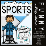 Sports Unit (Flashcards, Worksheets, Games, Writing project and more...)