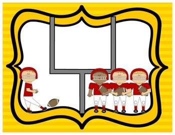 Sports - Football Welcome Banner