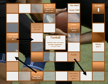 Sports Game Board Templates Multipack
