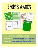 Sports Games for Common Core: Mental Math, Counting, Addition, Comparing Sets