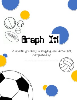 Sports Graphing Unit (common core & interactive)