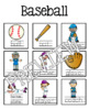 Sports Guided Writing Pattern Prompts for Emerging Writers