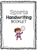 Sports Handwriting Booklet