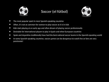 Sports, Health and Fitness PowerPoint