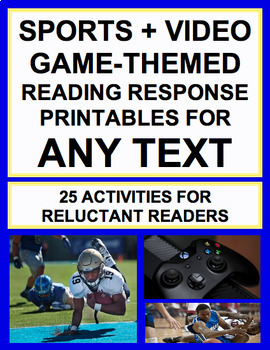 Sports & Video Game Activities for ANY Text: Engage Reluctant Readers!