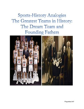 Sports-History Analogies: 1992 NBA Dream Team and the Founding Fathers