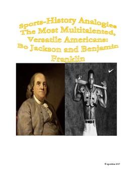 Sports-History Analogies: Bo Jackson and Benjamin Franklin