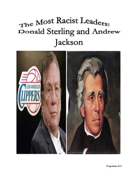 Sports-History Analogies: Donald Sterling and Andrew Jackson