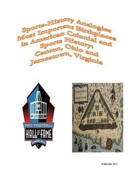 Sports-History Analogies: Jamestown, VA and Canton, OH
