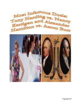 Sports-History Analogies: Kerrigan vs. Harding and Hamilton vs. Burr