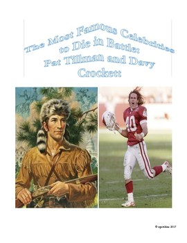Sports-History Analogies Most Famous to Die in War: Davy Crockett, Pat Tillman