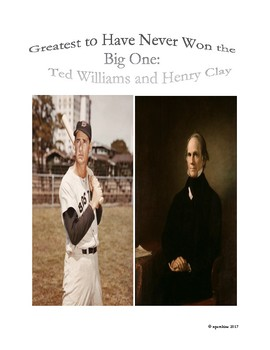 Sports-History Analogies: Ted Williams and Henry Clay