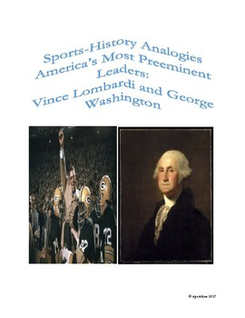 Sports-History Analogies: Vince Lombardi and George Washington