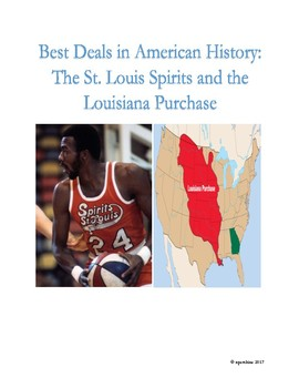 Sports-History Analogies: the St. Louis Spirits and the Louisiana Purchase