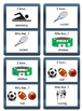 Sports I have/Who has? Card Game- ESL Sports Vocabulary