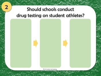 Speak about Sports, Public Speaking Activity for Middle School and High School