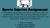 Sports Injuries Assignment