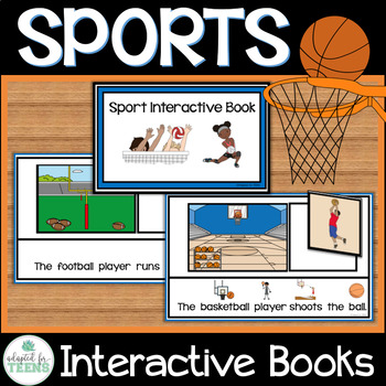 Sports Interactive Book for Special Education