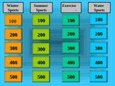 Sports Jeopardy -English Language