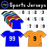 Sports Jerseys and Numbers for Math Products