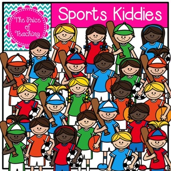 Sports Kiddies Clipart Set