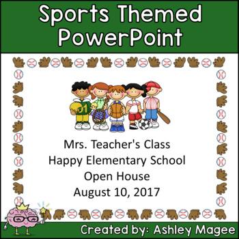Sports Kids Classroom Theme Resources Bundle