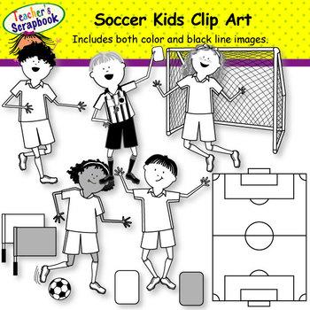 Sports Kids Clip Art BUNDLE