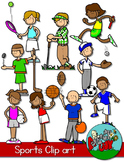 Sports Kids Clipart
