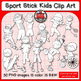Sports Kids * Sports Figures * Sports Graphics