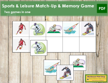 Sports & Leisure Match-Up and Memory