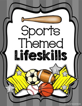 Sports Lifeskill Posters GrLY {Other colors available by request}