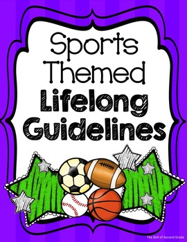 Sports Lifelong Guidelines P/G {Other colors available by request}