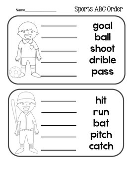 Sports Literacy Pack