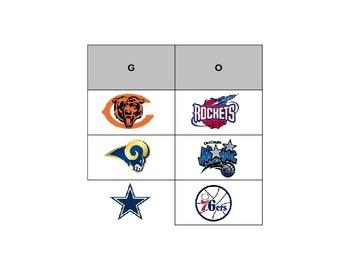 Sports Logo Bingo