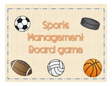 Sports Management - Board Game for Mixed Groups